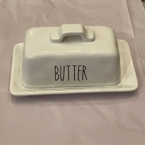 Butter Dish matches with Rae Dunn